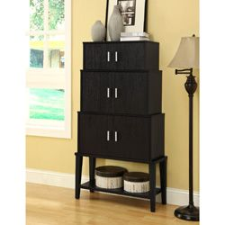 @Overstock - Add a stylish touch to your living space with this storage cabinet. A cappuccino finish and stacking design finish this cabinet.http://www.overstock.com/Home-Garden/Cappuccino-55-inch-Stacking-Style-Storage-Cabinet/6811420/product.html?CID=214117 $204.99