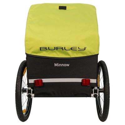 Burley Minnow Child Trailer Green