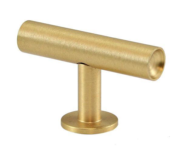 Lewis Dolin Lews Hardware 31 111 2 51mm Round Bar Brushed Br The Hut