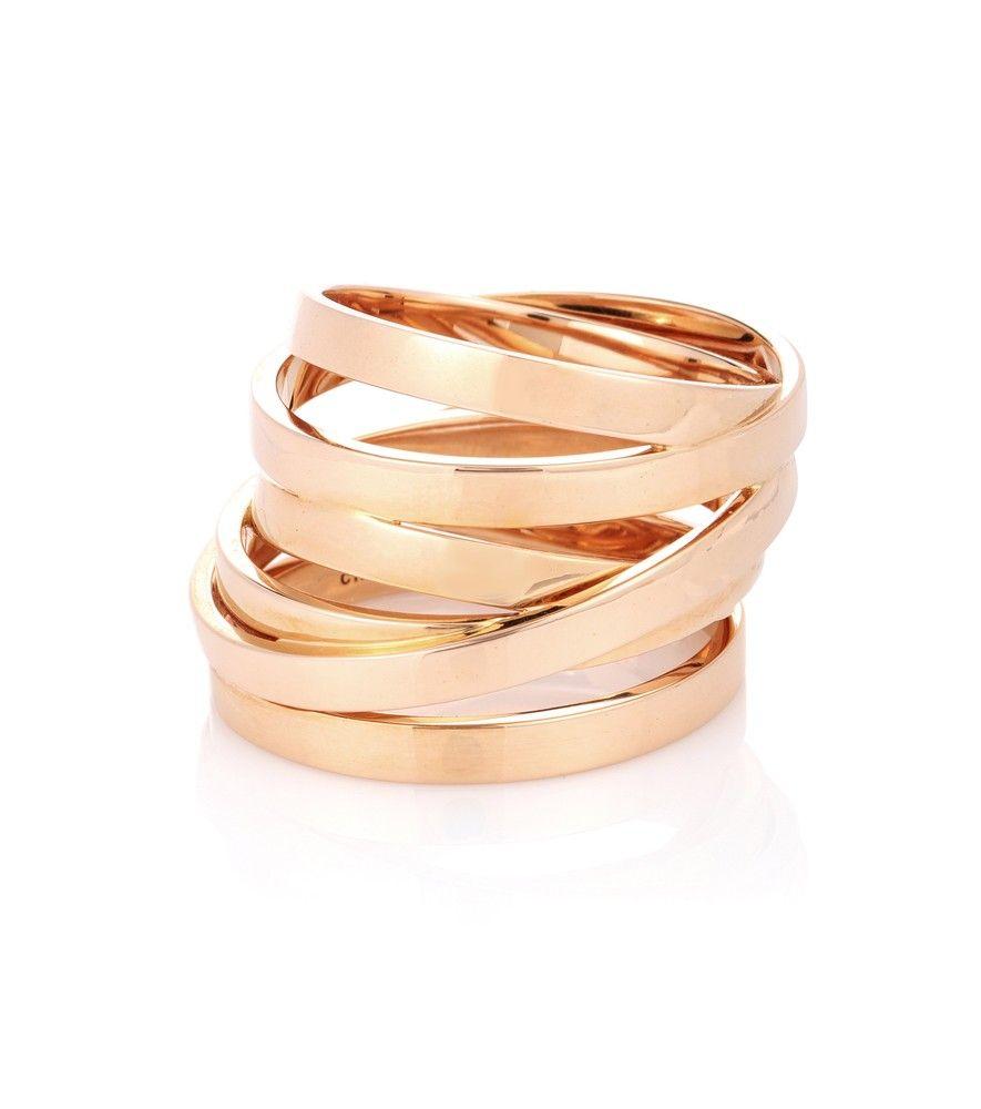Repossi Berbère Technical Ring in 18K Rose Gold MvFyjOobq