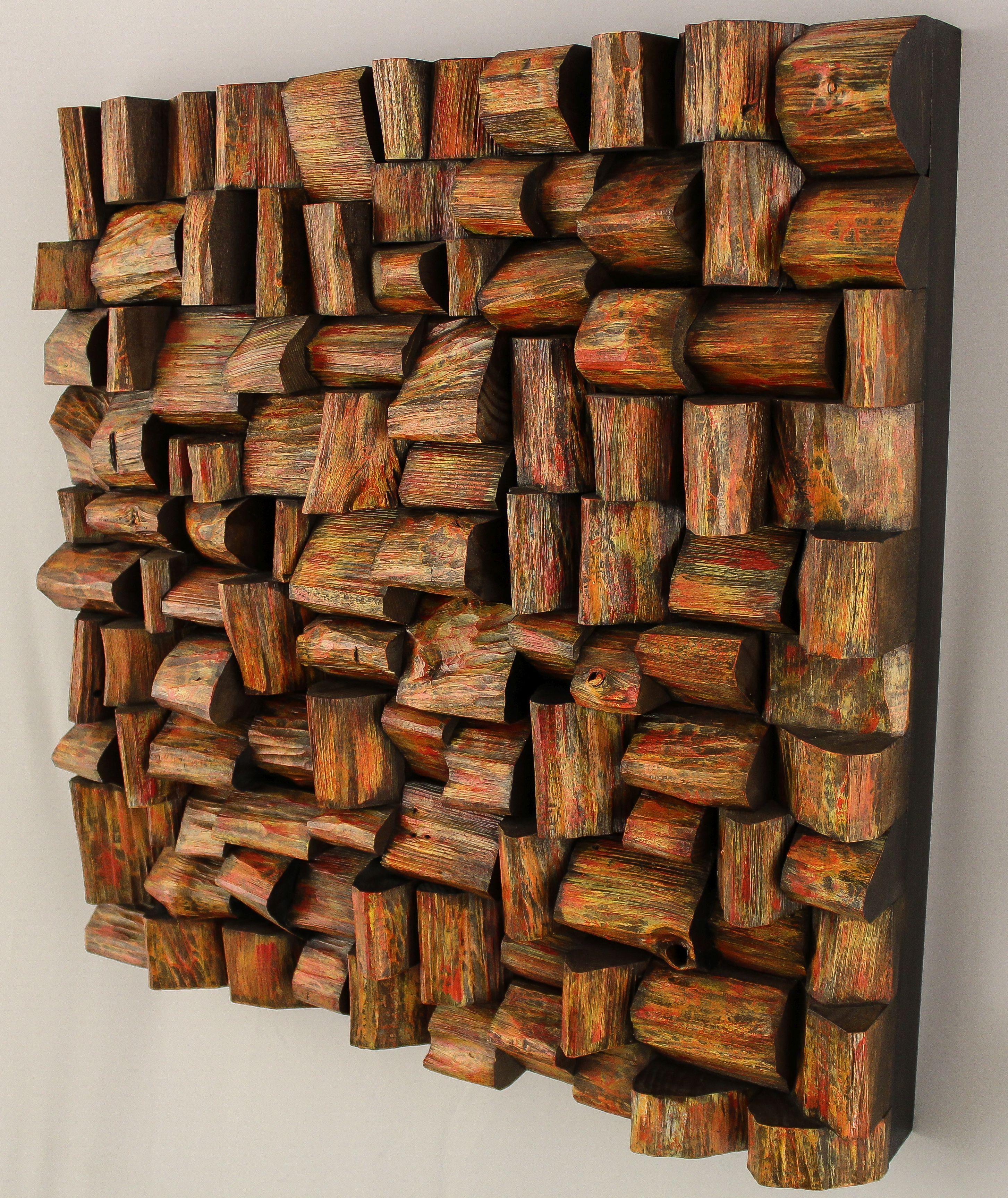 Acoustic Art Wooden Wall Decor Acoustic Panels Wooden Art