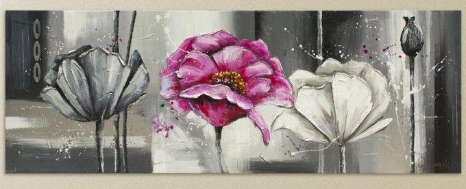 ofertas en cuadros de flores con relieve primavera en tu hogar en