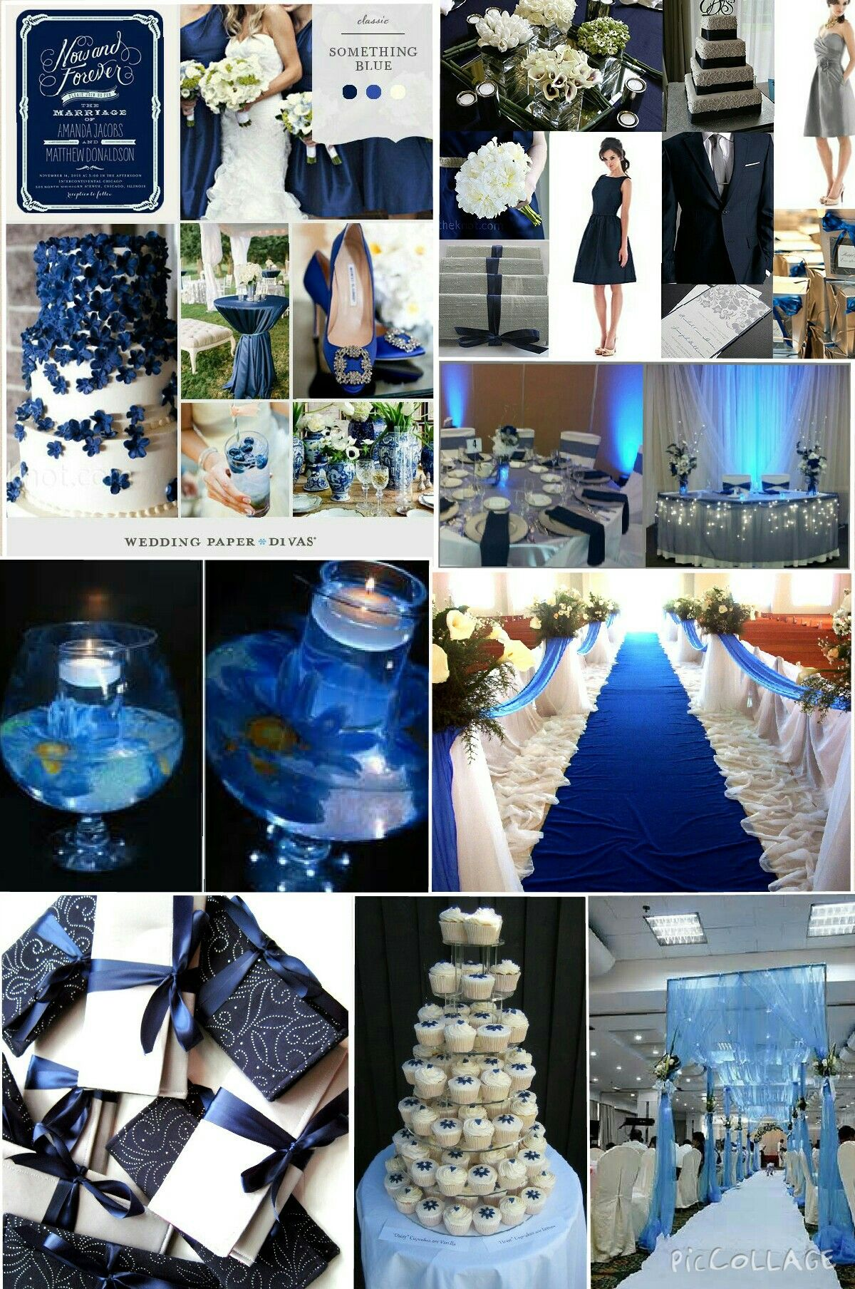 blue and silver wedding theme ideas. in 2019 | blue silver