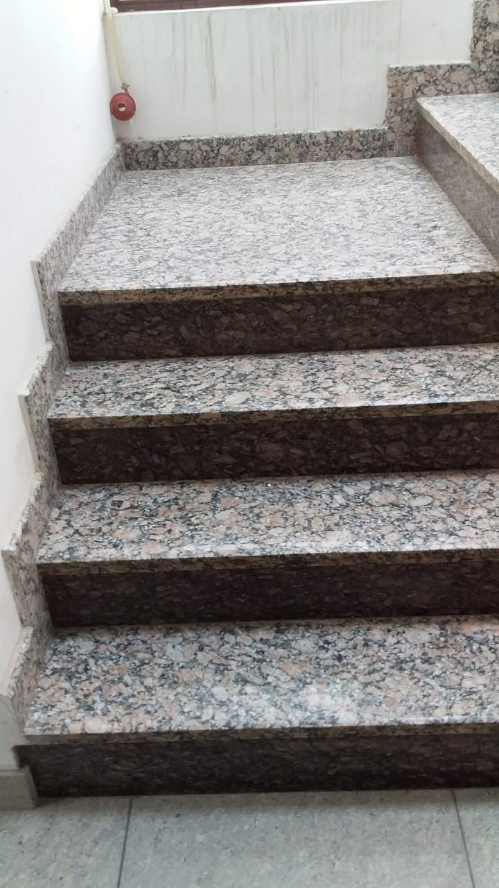 Granite staircase   Staircase interior design, Stairs ...