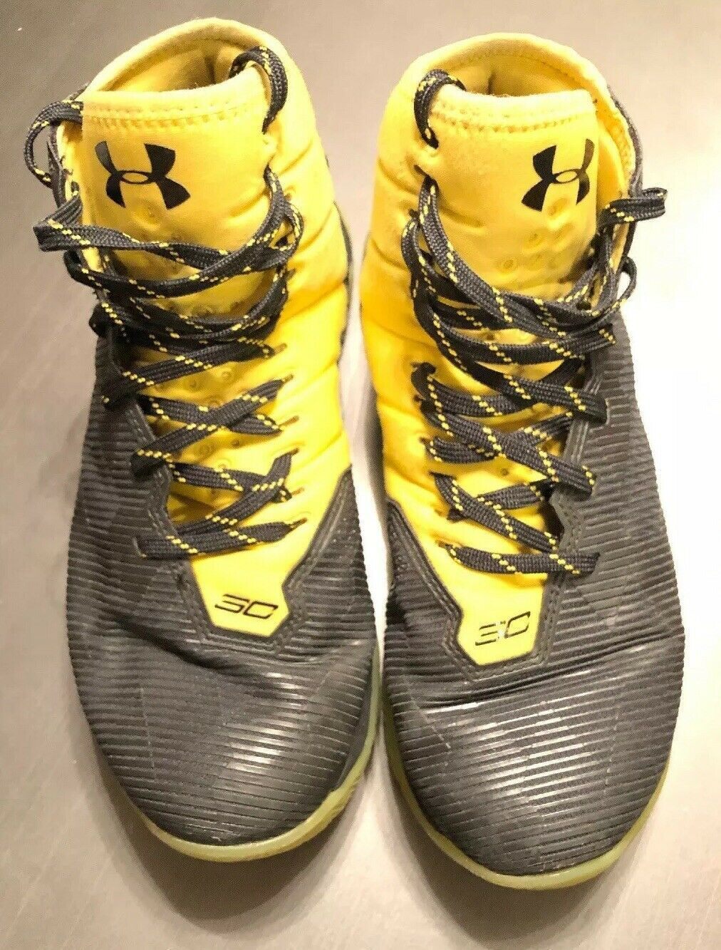 7a77cbb21d15 Under Armour Steph Stephen Curry 2.5 Black Yellow Warriors SZ 7 Basketball  Shoes - Curry 4 Shoes - Latest Curry 4 Shoes -  curry  curryshoes   curry30shoes ...