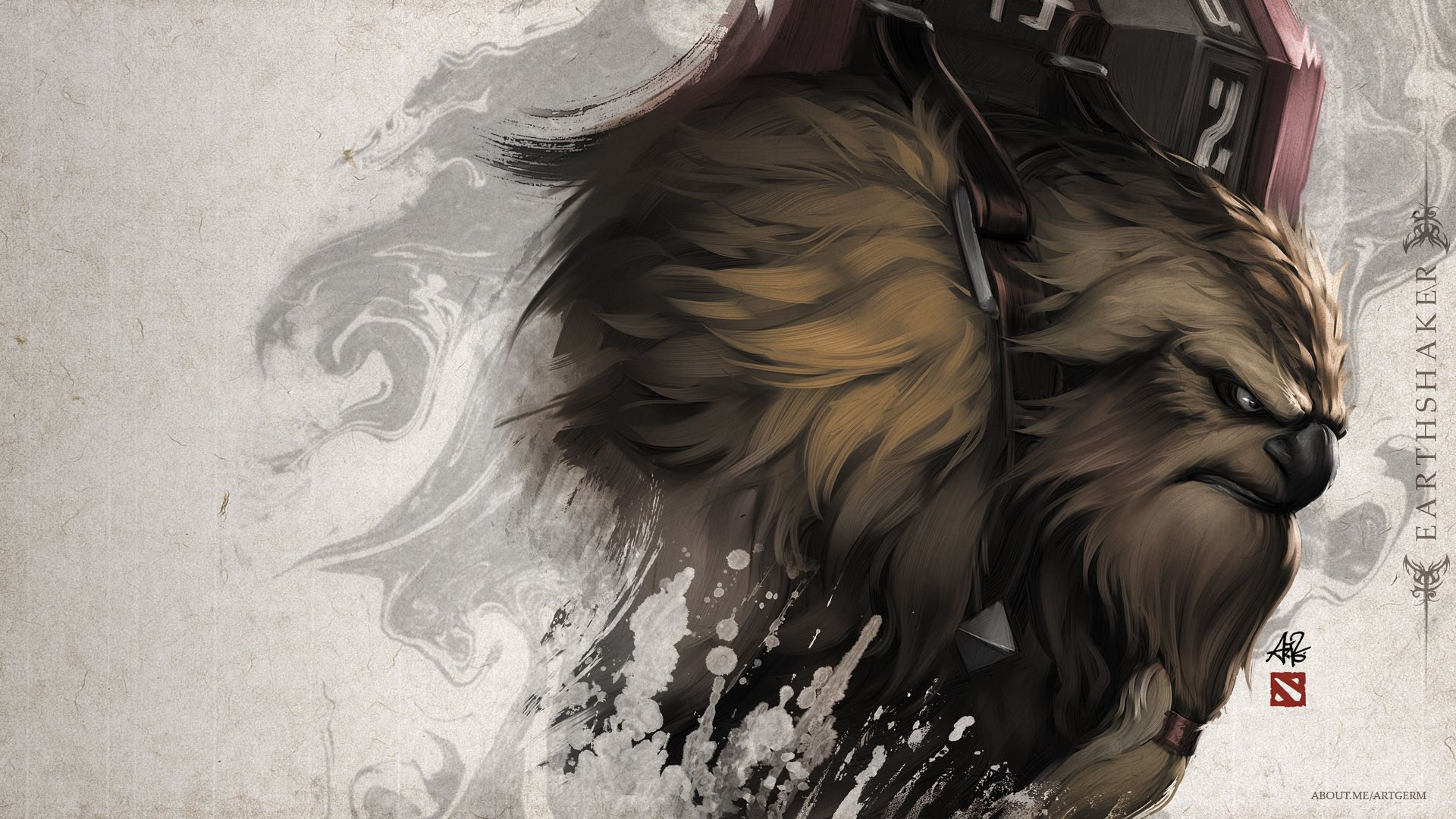 Steam Workshop :: Earthshaker Portrait - Poster | Dota 2 wallpapers hd, Dota  2 wallpaper, Art