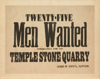 Men Wanted- Archival Print by NauvooGallery on Etsy