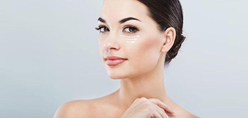 البشرة الناعمة والمشدودة جزء لا يتجزأ من إطلالة المرأة فتجاعيد الوجه والخطوط الدقيقة حول العينين إضافة الى جفاف البشر Eye Wrinkle Under Eye Wrinkles Undereye