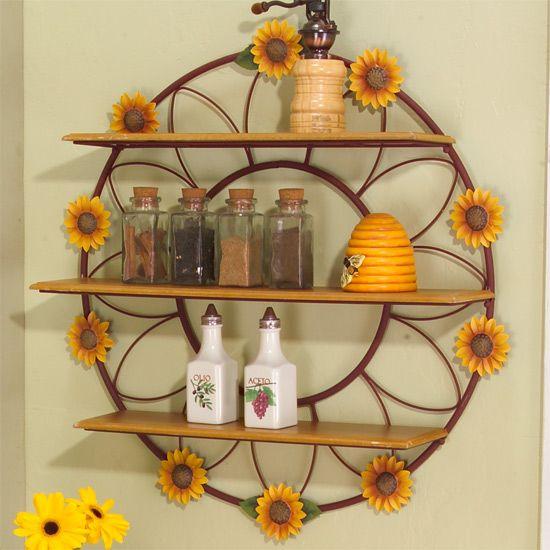 Tuscan Sunflower Kitchen Decor