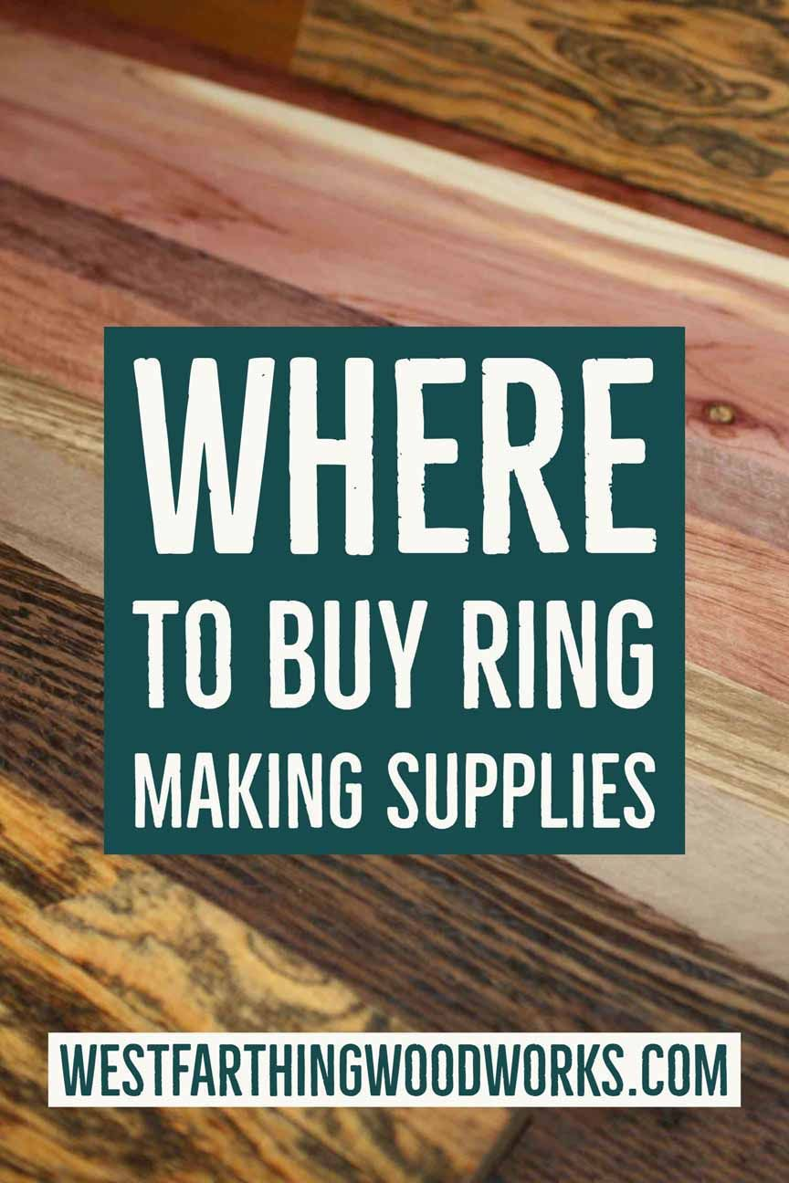 Where to Buy Ring Making Supplies