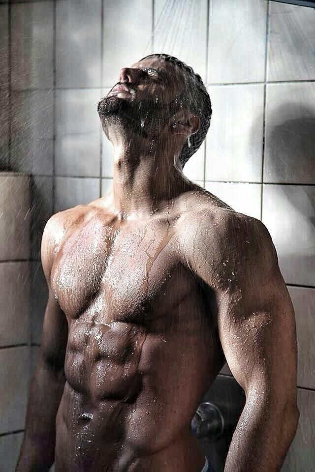 Muscles Being Washed