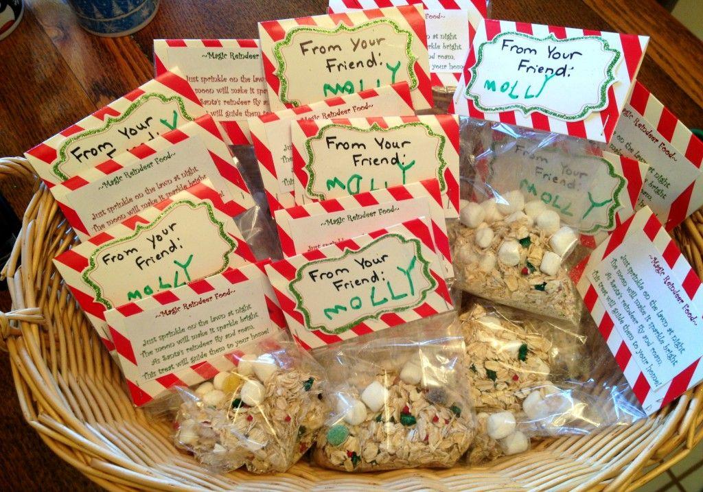 Reindeer Food Recipe and Free Printable #reindeerfoodrecipe