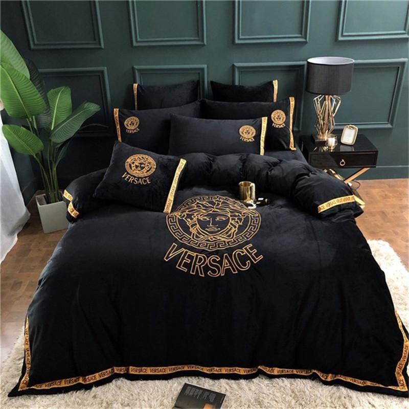 Designer Luxury Bedding Sets Fashion, King Queen Bed Set