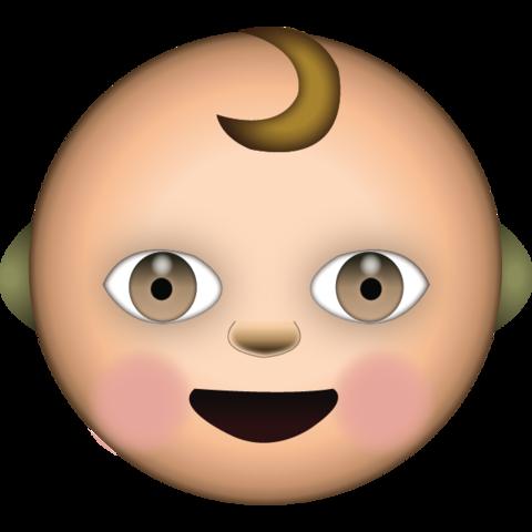 White Baby Emoji Emoji Funny Emoji Texts Funny Emoticons