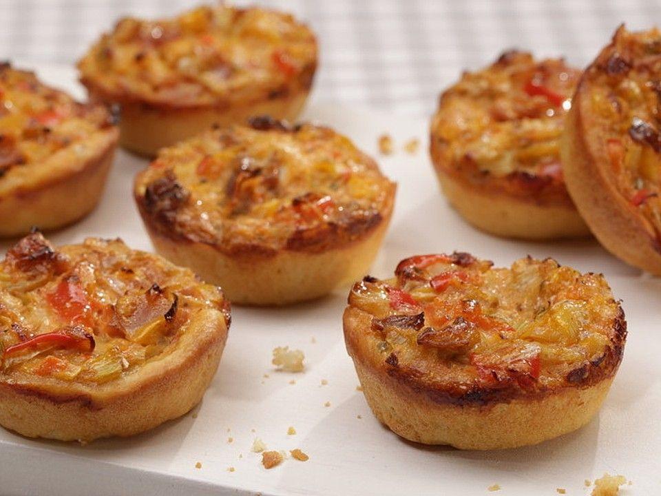 Mini-Party-Quiches von CookingJulie | Chefkoch