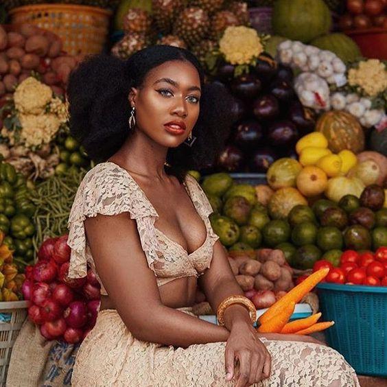 Épinglé sur Les belles femmes africaines