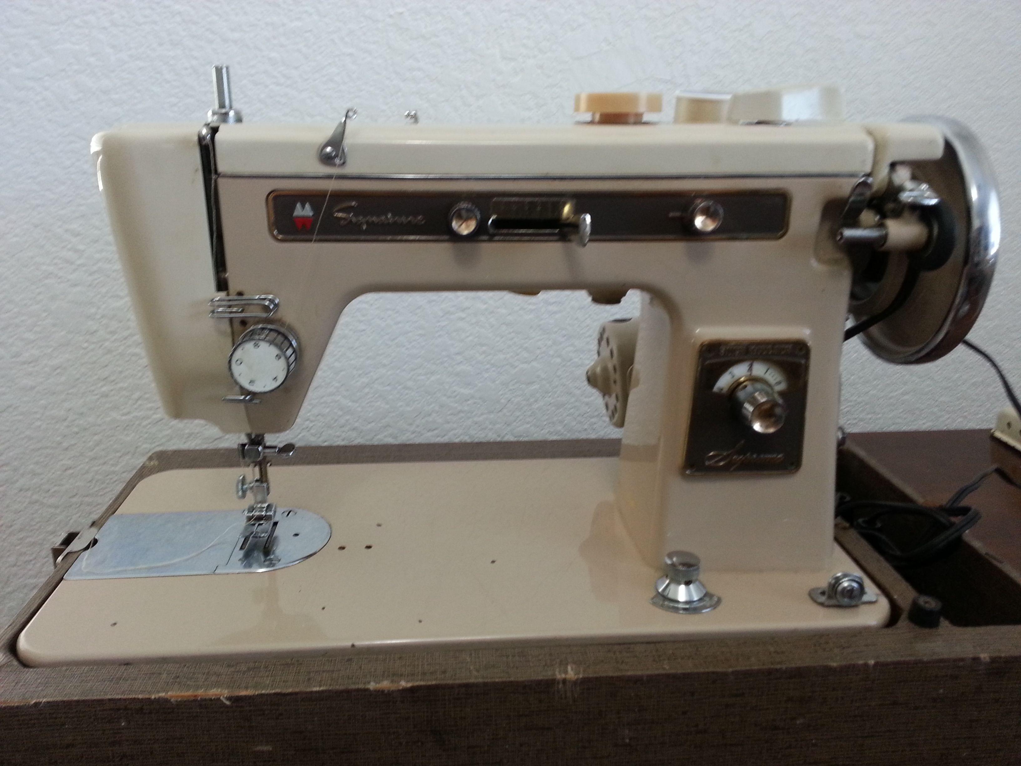 ward sewing machine