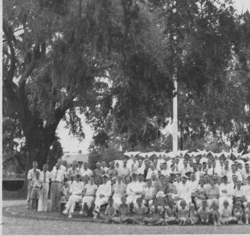 Carville Leprosarium Staff, 194- :: Baton Rouge Room