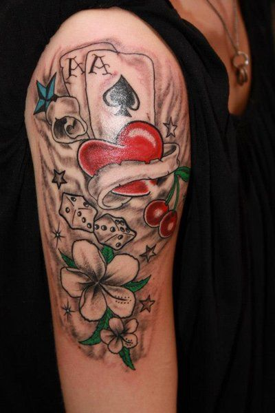 f69a01d97 tattoo Lucky Games by fortuna15 on DeviantArt | Lucky Art Tattoo ...