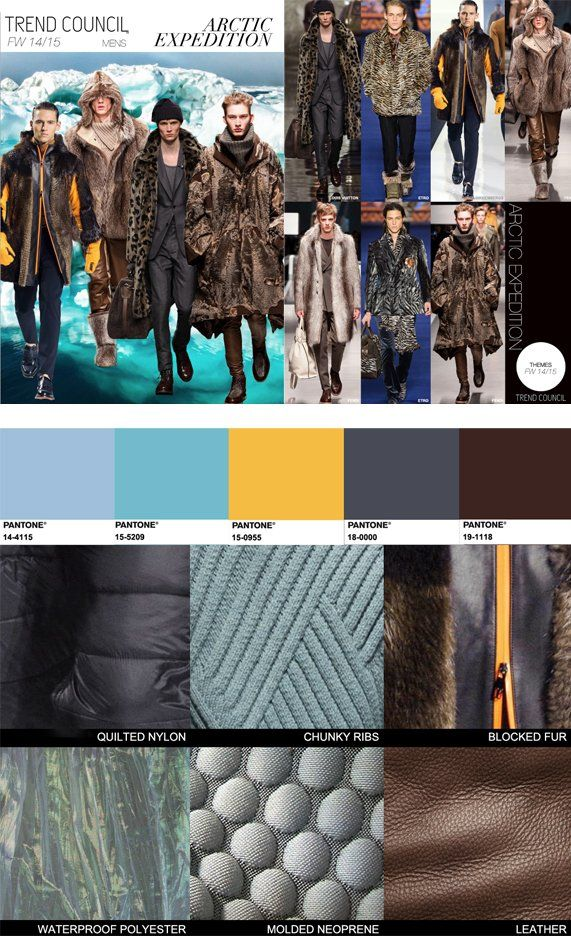 TREND COUNCIL F/W 2014 #COLOR- ARCTIC EXPEDITION | Fall