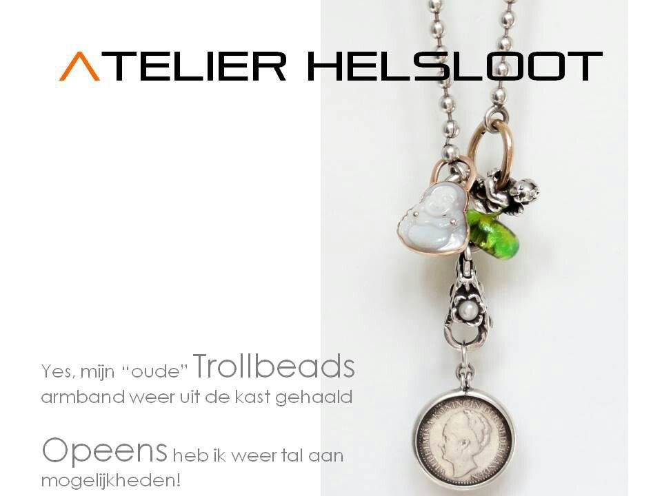 """""""Old"""" trollbeads made into something new"""