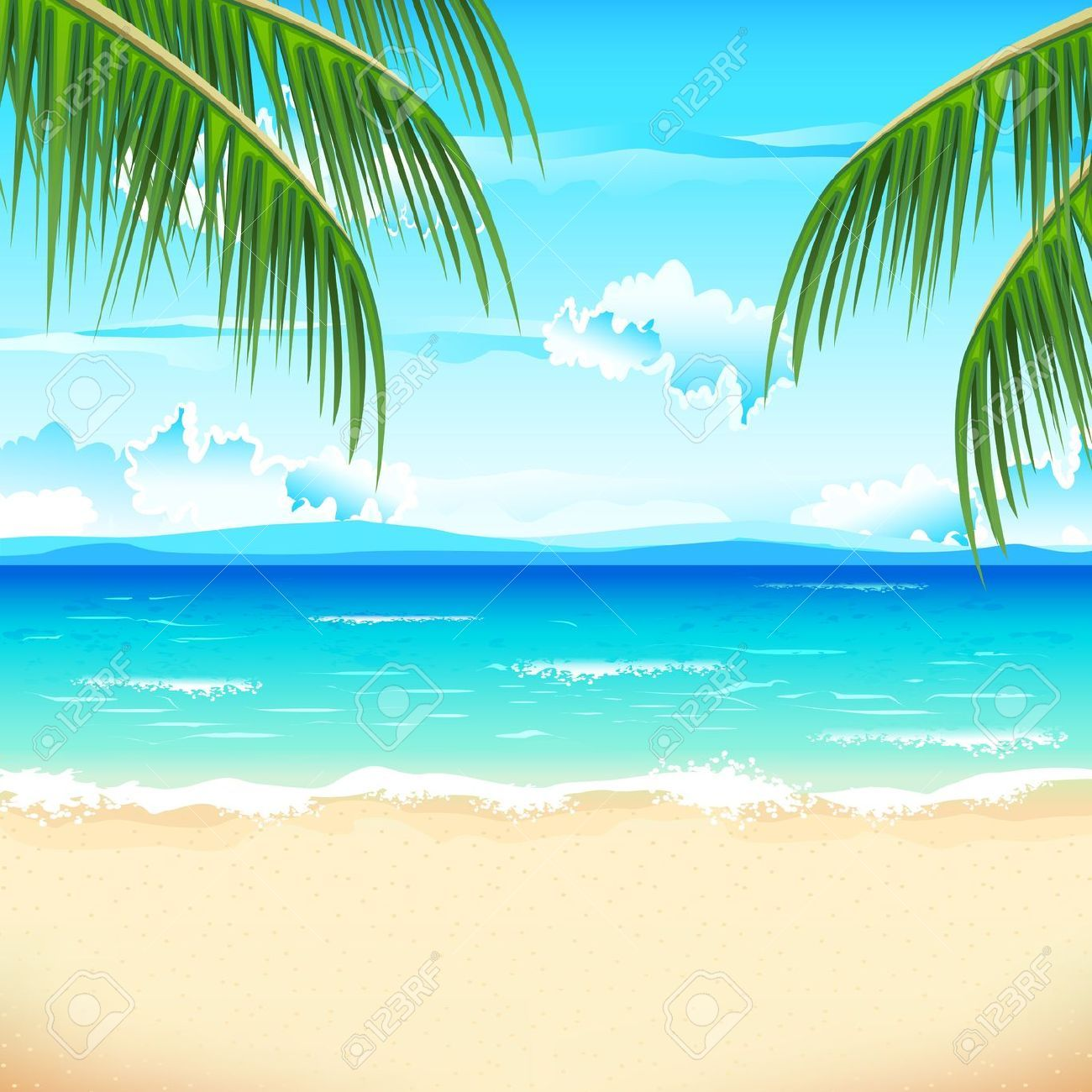 the prices for stock photos and vector images are as low as 0 rh pinterest com sunny beach background clipart beach background clipart free