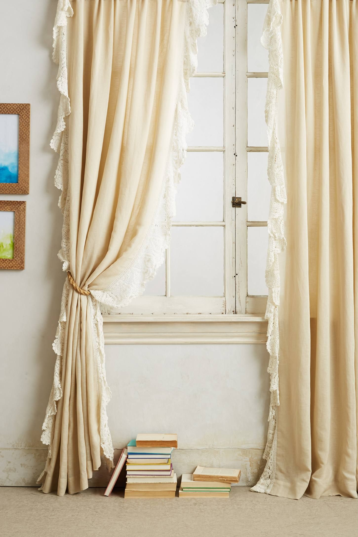 Bombay Tassel Finials Home Decor Bedrooms Lace Curtains