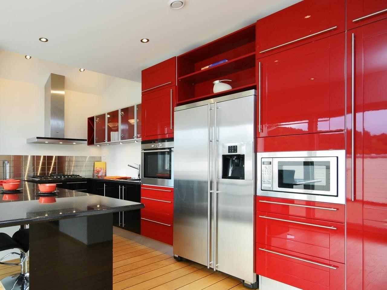 Modern Kitchen Cabinet Colors  Httpsinhvienthienan Unique Kitchen Unit Designs Design Inspiration