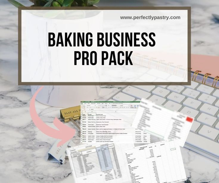 Launch your baking business in 2020 baking business