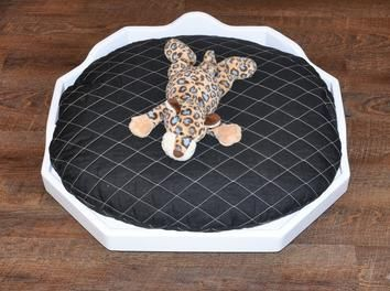 An elegant #bed for your #pet. www.1-2-do.com