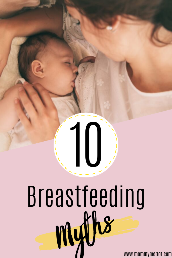 Common breastfeeding myths and their truths Have you been told false information about breastfeeding? I know I have! Here are 10 of the most common myths you'll hear about breastfeeding.. and you'll want to know these before you start!