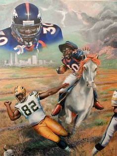 Artworks, John elway and The o'jays on Pinterest