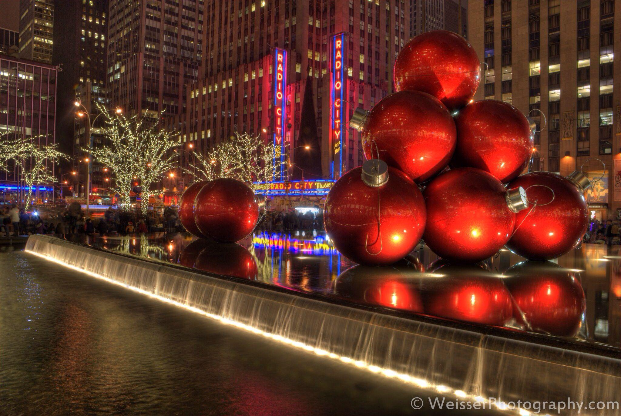 Radio City Music Hall Christmas Ornaments | Christmas in New York ...