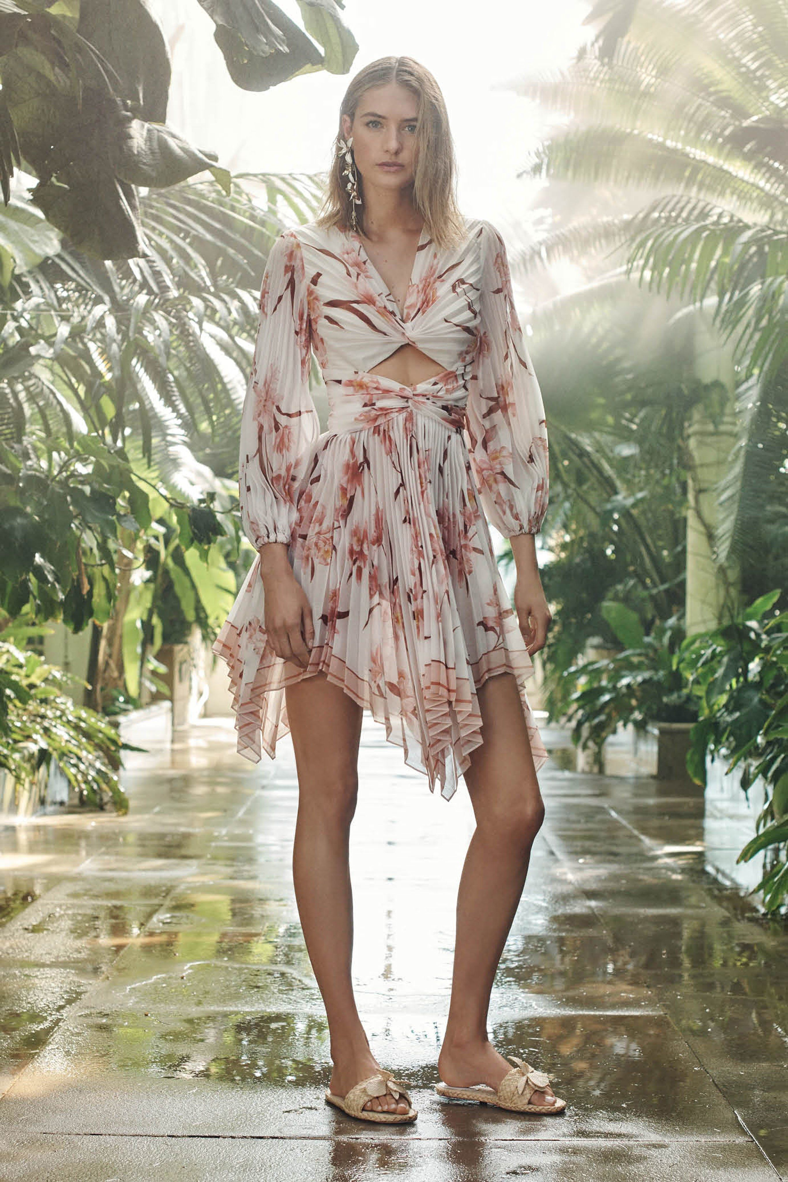 Zimmermann resort fashion show resorts collection and catwalks