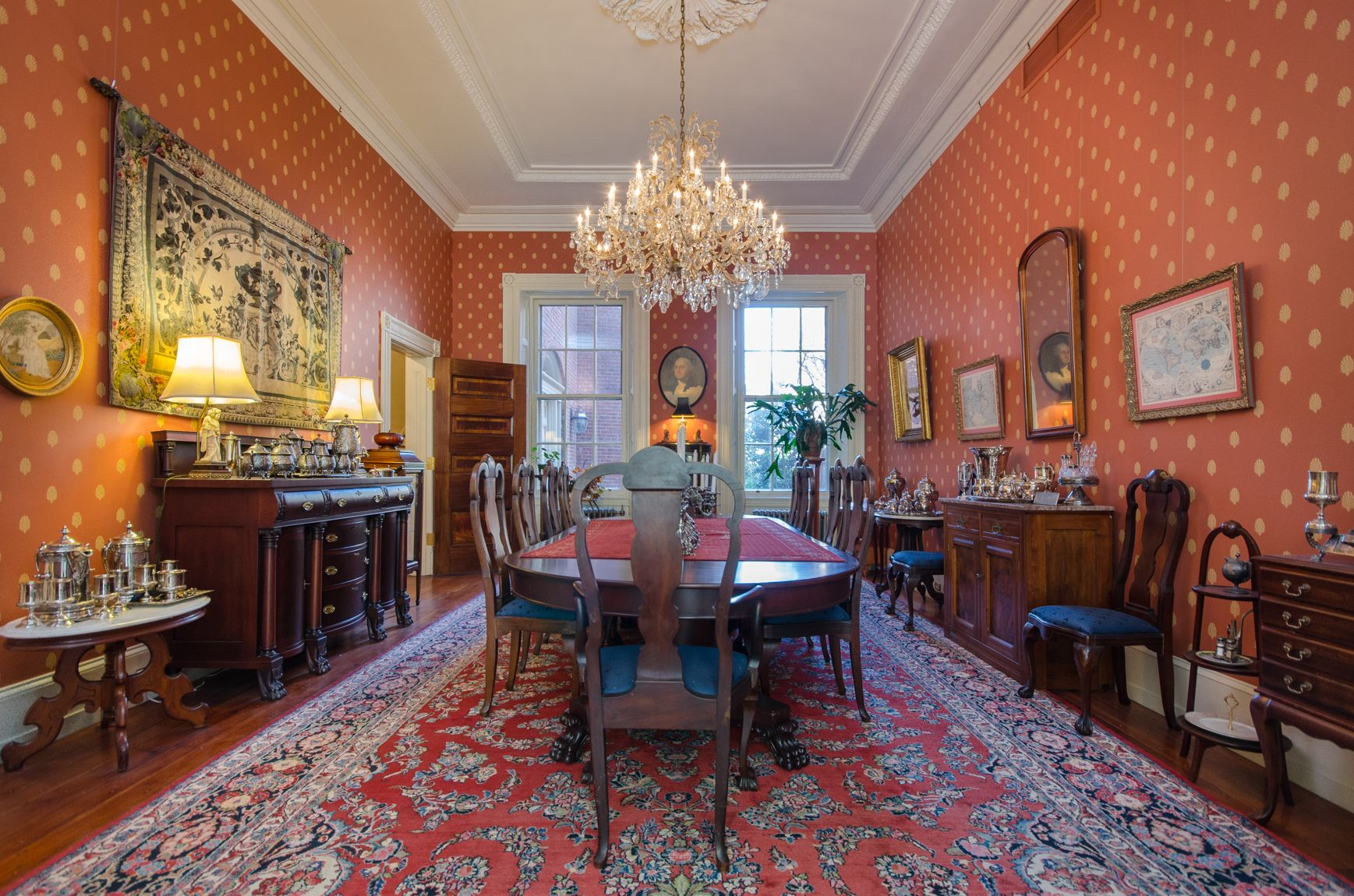 Historic Society Hill Mansion With George Washington Ties Asks $2.65M    Curbed Phillyclockmenumore Arrow