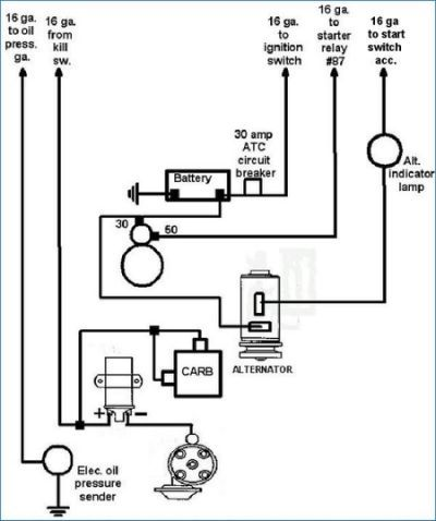 Vw Dune Buggy Wiring Diagram