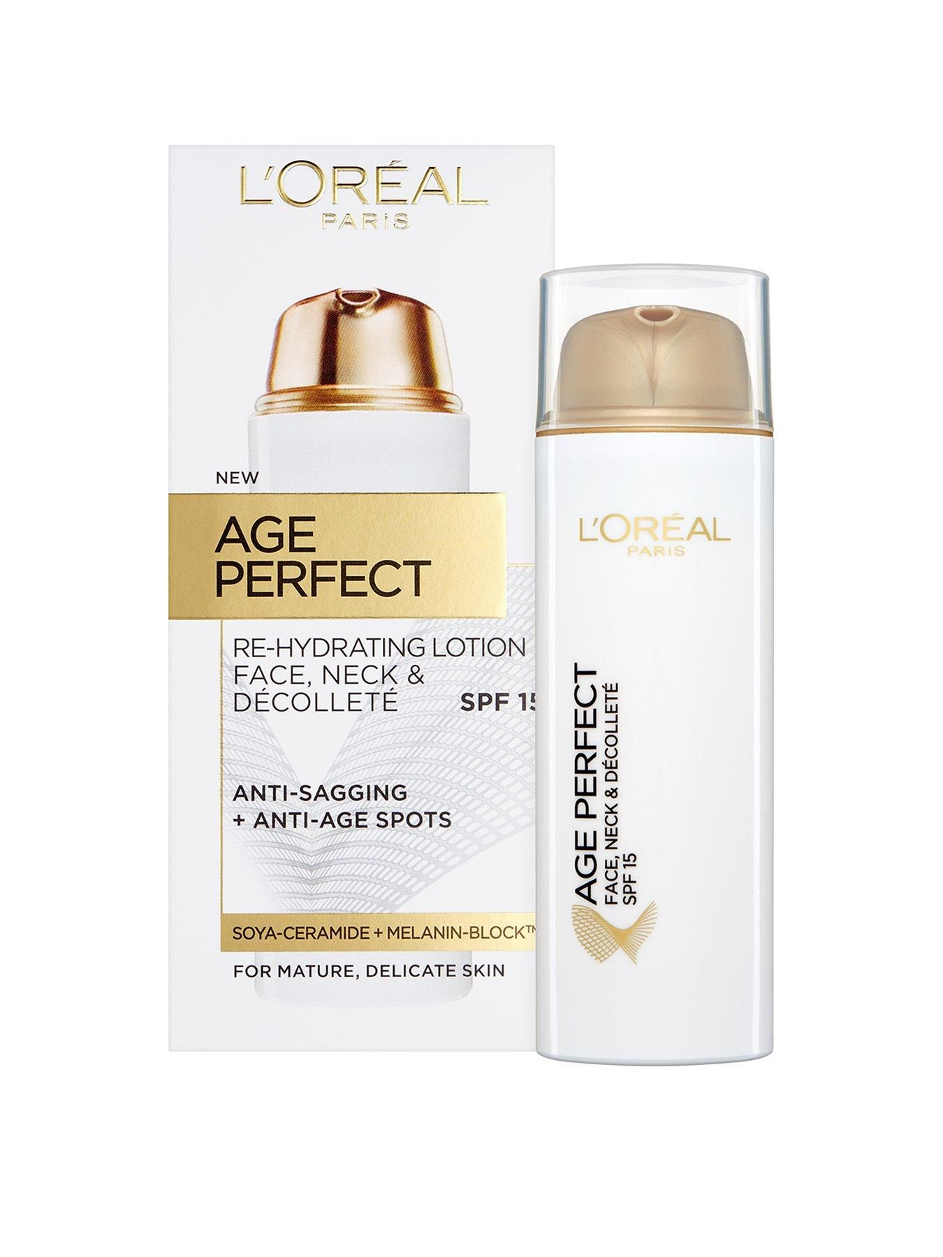 L'Oreal Paris Age Perfect Face, Neck And Decollete Spf15