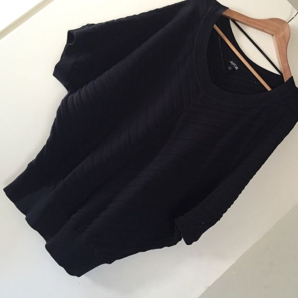 Cute baggy top! Loose fit top, used, but still has some life! Apt. 9 Tops Tunics