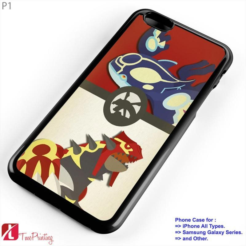 Pokemon Ruby and Sapphire iphone case