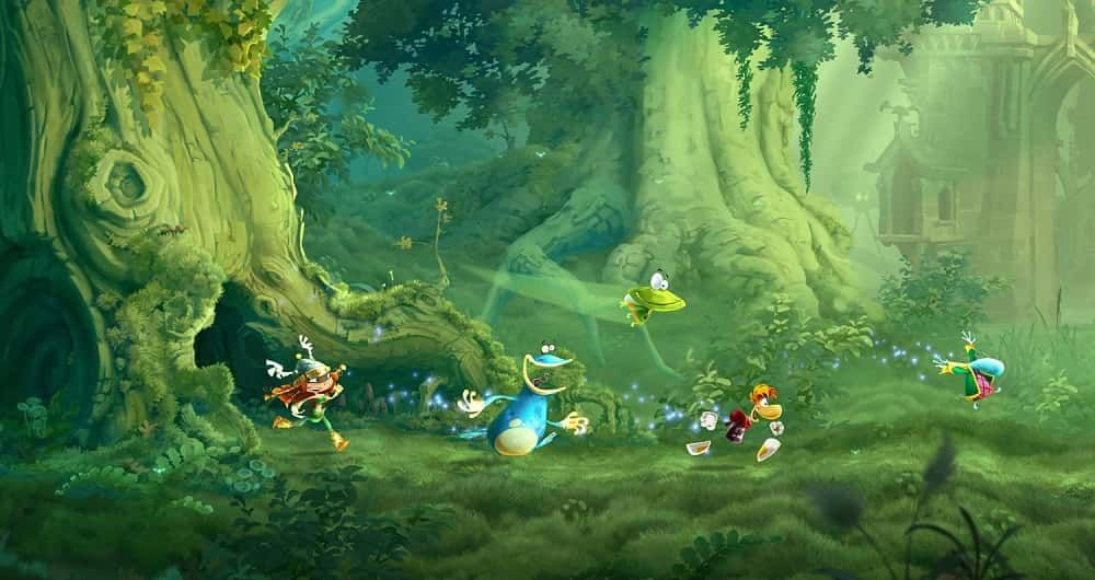 Top 10 Couch Co Op Games On Playstation 4 Rayman Legends