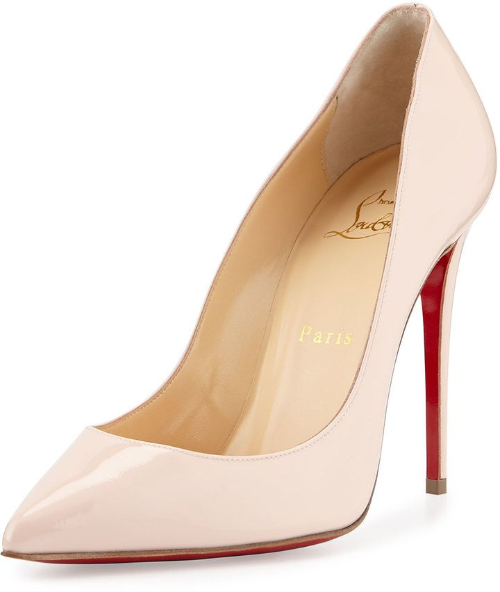 0b6d0d728d27 Christian Louboutin Pigalles Follies Patent 100mm Red Sole Pump ...