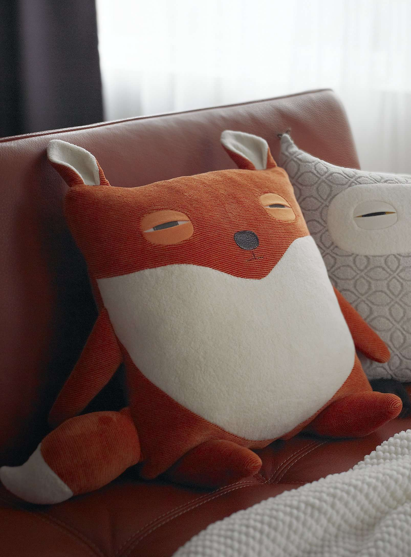 Silly Fox Pillows At Simons Kids Fox Pillow Cushions