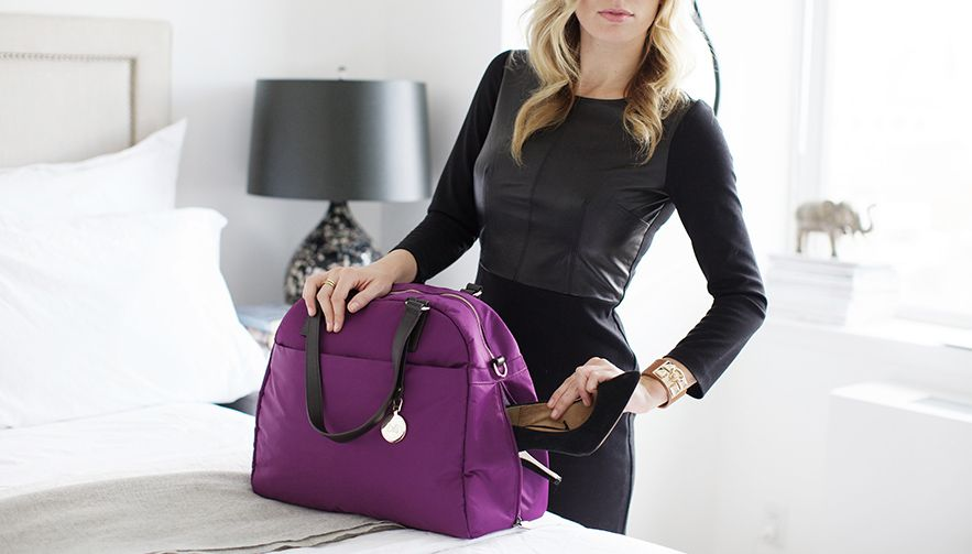 The OMG - lightweight travel bag, laptop tote, and stylish gym bag (all-in-one).