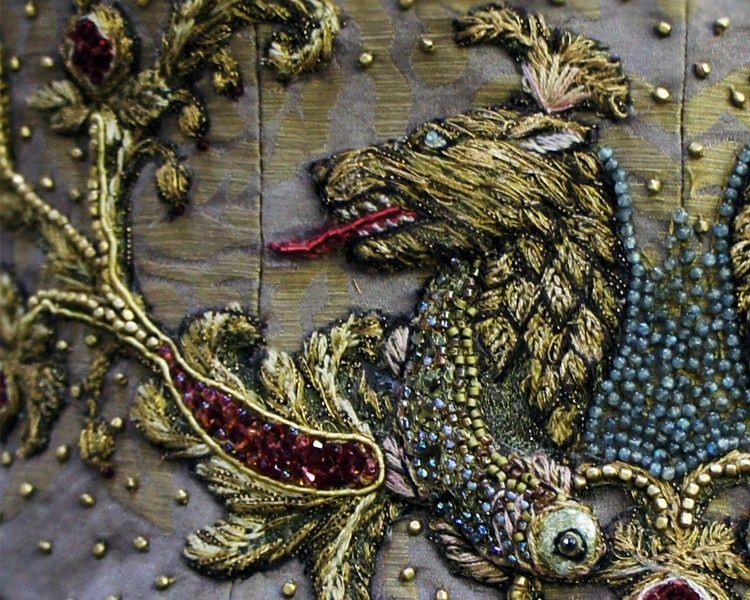 Game Of Thrones Embroidery By Michele Carragher 15 Dress Cos