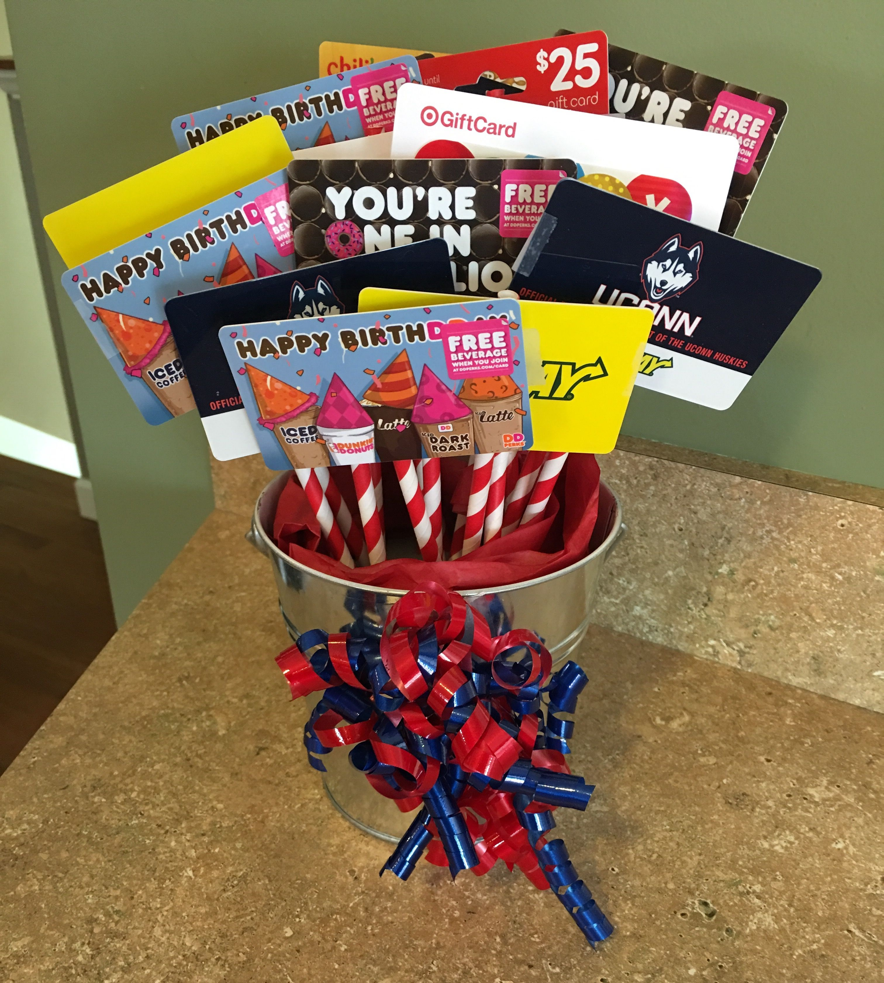 For My Son S 16th Birthday 16 Gift Cards For His Favorite Places He Can Keep His Gift On His Dr Mens Birthday Gifts Birthday Gifts For Boys Boy 16th Birthday
