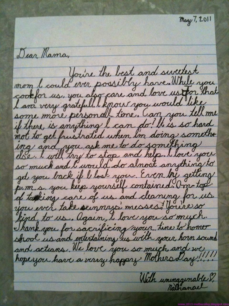 Love Letter Thing 2 Happy Mothers Day Letter Happy Mothers Day Wishes Mother Day Wishes