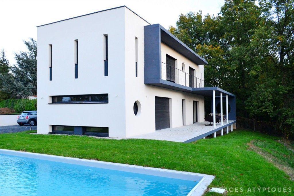 Réalisation d'une maison contemporaine près de Lyon