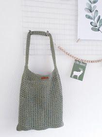 3b59e170fed CutiePie Designs: Raw Linen Shopper (Patroon) | Creatiefje - Haken ...