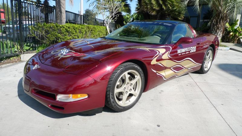 2003 50th Anniversary Red Chevy Corvette Coupe Corvette Chevy Corvette For Sale Used Corvette