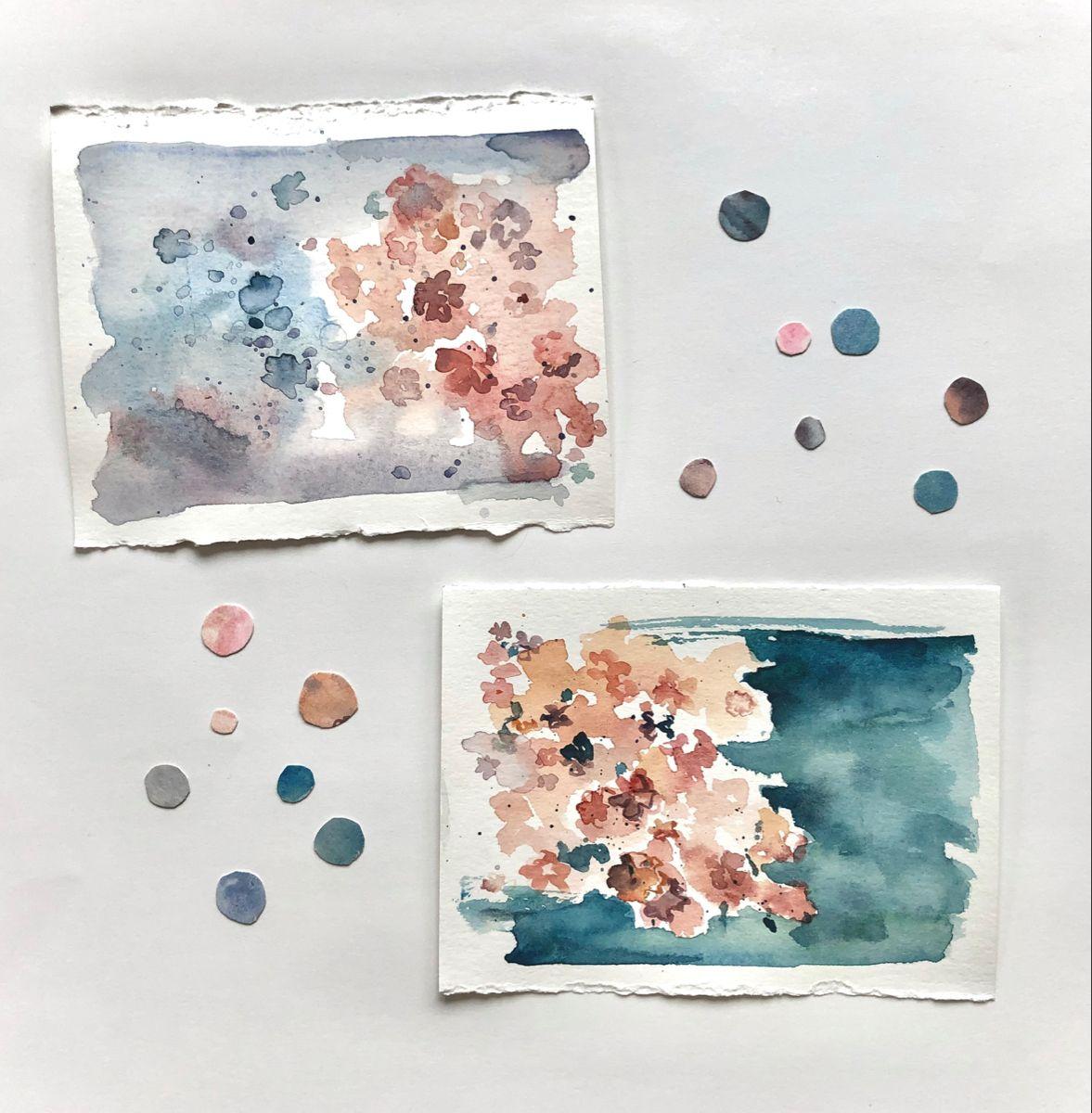 #watercolorarts #sakura #pastelcolor #watercolorsketch #artistsoninstagram